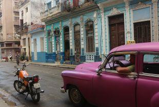 Cabbing in Cuba