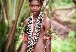Young boy of Korafe tribe