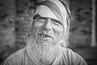 Homeless yet happy