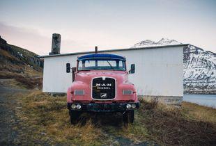 MAN Diesel, Seyðisfjörður Iceland.