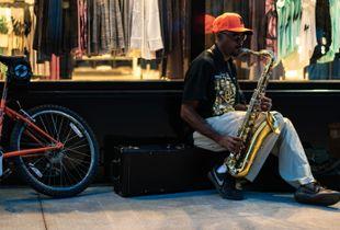 Night Saxophonist