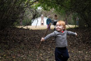 Julian and the Big Stick