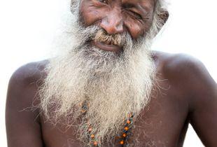 Saddhu on the Ganges
