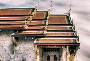 'Wad' Thai Buddhist Temple/Monastery - an integral sacred part of Thai society.