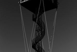 Noerreland church bell tower.
