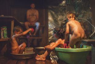Bathhouse (Russian banya)