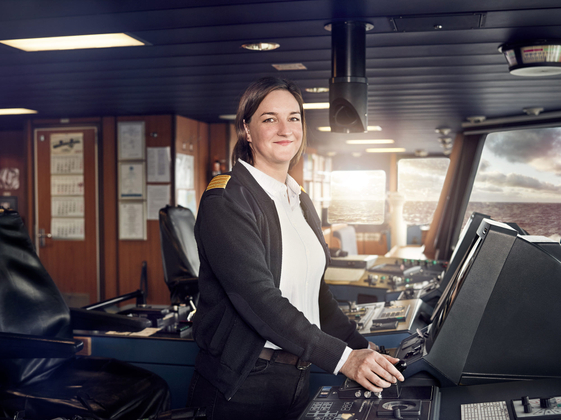 Captain at Sea