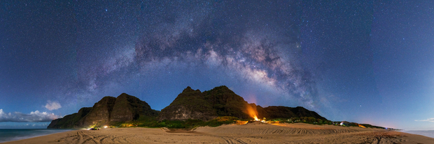 Milky Way Over Polihale