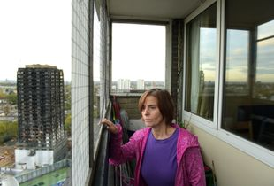 Life in the shade of Grenfell Tower