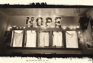 Hope, the Powerhouse, Portland, OR, 1997. © Chris McCaw