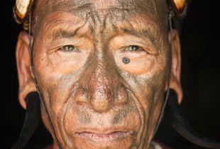 Head-hunter, Nagaland, India