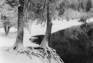 Merced River, Winter, Yosemite