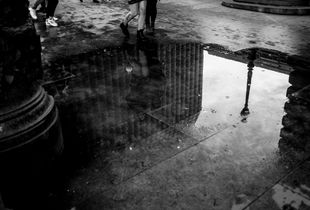 BnW puddle
