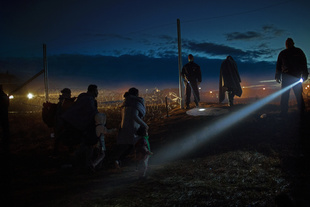 refugees on the Balkan route_Hungary
