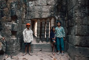 Temple Kids in Cambodia