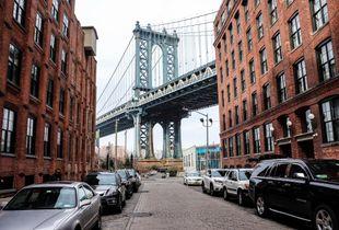 Brooklyn Bridge view from Brooklyn.