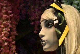 Face aux fleurs
