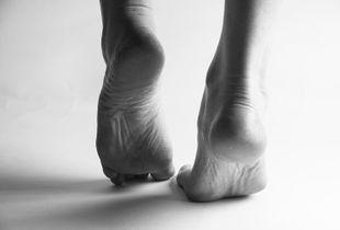 Untitled; Feet.