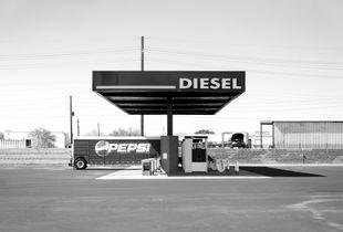Diesel Fill Station. Phoenix, AZ. August 23, 2017