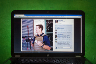 """The last profile picture by """"James Foley"""""""