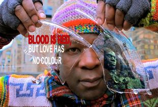 Blood is red but love has no colour