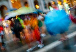 Milan, umbrella, etc...