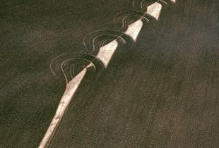 """Ploughed field, wheatbelt, Western Australia, Australia, from the series """"Abstract Earth"""" © Richard Woldendorp"""