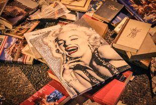 Flea market - beauty and waste