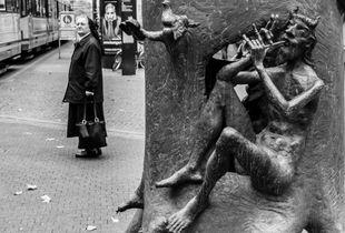 Nun and demon.