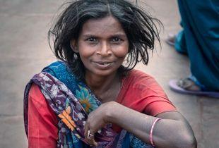 Mendiante a Haridwar