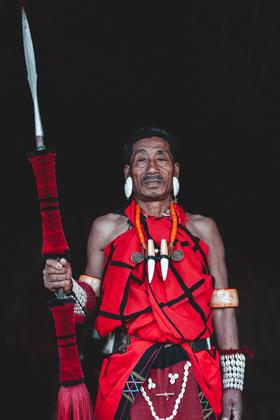 Naga Tribesman