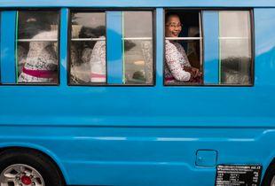 On the religious bus