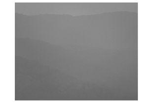 Mairiporã's mountains at dusk IV