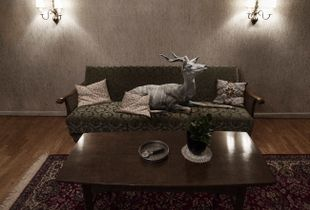 Untitled (Antelope) 2014