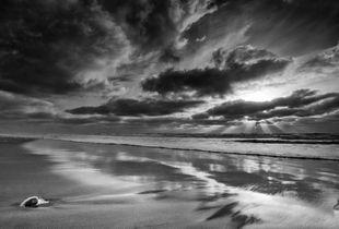 Sunset, San Gregorio Beach