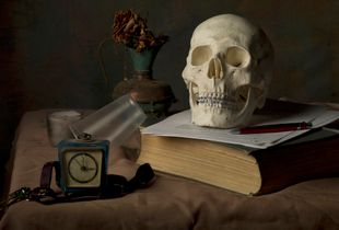 Skull and cup 2008