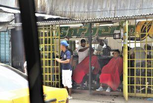 Barbershop in Cuba