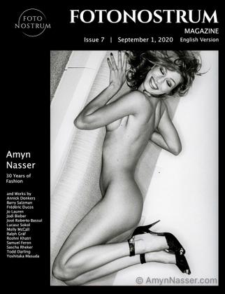 Supermodel Amber Smith. Max France Magazine. - Link go.amynnasser.com/fotonostrum-7