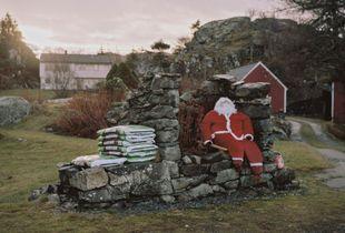Santa and soil