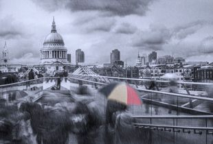 Raining in London Town