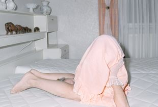 Mum in bed