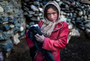 La pastorella afghana