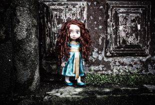 lost doll in the real world