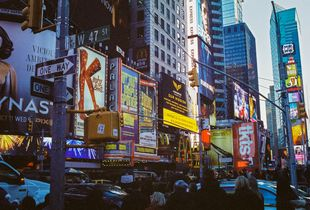 Density of Times Square, Analog