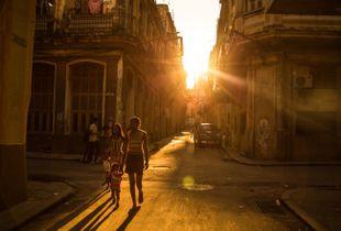 Tramonto all'Havana