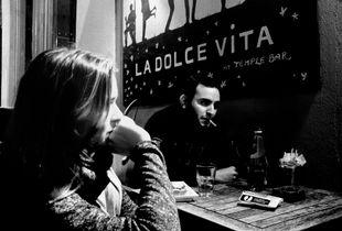 Cover shot for La Dolce Vita.