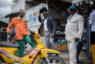 Show in the street of Brazza