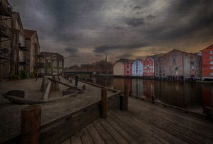 The old pier s of Trondheim