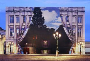 Light of Magritte, 176 x 236cm, 2009, Chromogenic Print