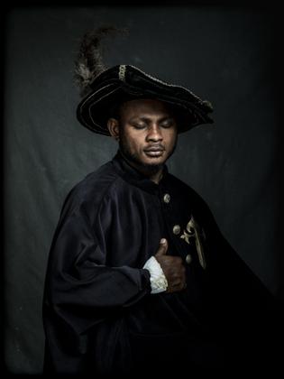 M.E. from Niger as Juan Guarrrido, Spanish Conquistador.
